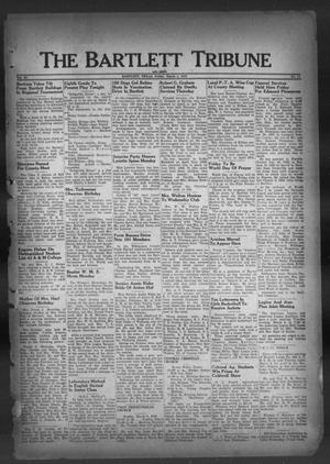 Primary view of object titled 'The Bartlett Tribune and News (Bartlett, Tex.), Vol. 62, No. 17, Ed. 1, Friday, March 4, 1949'.