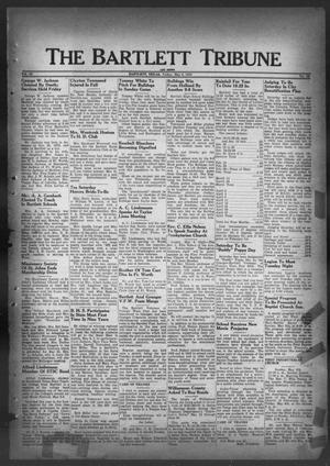 Primary view of object titled 'The Bartlett Tribune and News (Bartlett, Tex.), Vol. 62, No. 26, Ed. 1, Friday, May 6, 1949'.