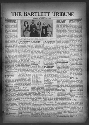 Primary view of object titled 'The Bartlett Tribune and News (Bartlett, Tex.), Vol. 62, No. 27, Ed. 1, Friday, May 13, 1949'.