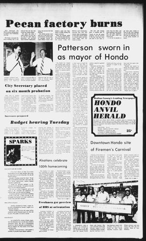 Primary view of object titled 'The Hondo Anvil Herald (Hondo, Tex.), Vol. 96, No. 33, Ed. 1 Thursday, August 19, 1982'.