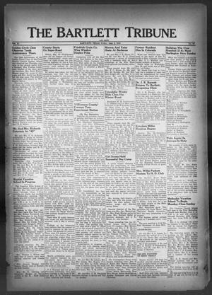 Primary view of object titled 'The Bartlett Tribune and News (Bartlett, Tex.), Vol. 62, No. 30, Ed. 1, Friday, June 3, 1949'.