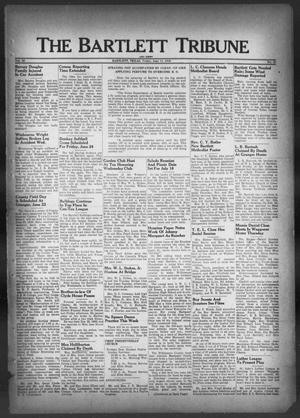 Primary view of object titled 'The Bartlett Tribune and News (Bartlett, Tex.), Vol. 62, No. 32, Ed. 1, Friday, June 17, 1949'.