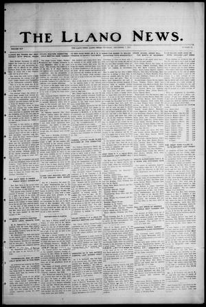 Primary view of object titled 'The Llano News. (Llano, Tex.), Vol. 45, No. 52, Ed. 1 Thursday, December 7, 1933'.
