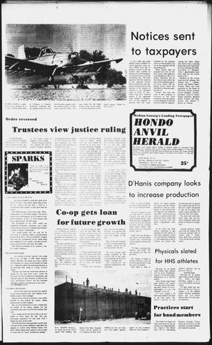 Primary view of object titled 'The Hondo Anvil Herald (Hondo, Tex.), Vol. 96, No. 29, Ed. 1 Thursday, July 22, 1982'.