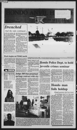 Primary view of object titled 'Hondo Anvil Herald (Hondo, Tex.), Vol. 106, No. 10, Ed. 1 Thursday, March 5, 1992'.