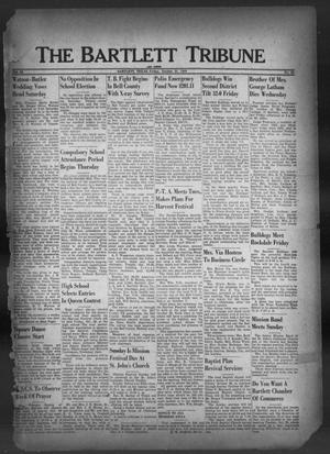 Primary view of object titled 'The Bartlett Tribune and News (Bartlett, Tex.), Vol. 62, No. 50, Ed. 1, Friday, October 21, 1949'.