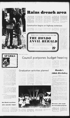 Primary view of object titled 'The Hondo Anvil Herald (Hondo, Tex.), Vol. 96, No. 19, Ed. 1 Thursday, May 13, 1982'.