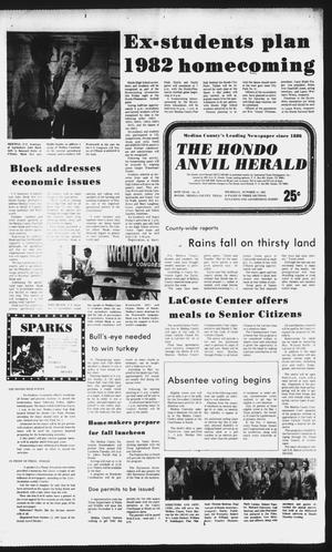 Primary view of object titled 'The Hondo Anvil Herald (Hondo, Tex.), Vol. 96, No. 41, Ed. 1 Thursday, October 14, 1982'.