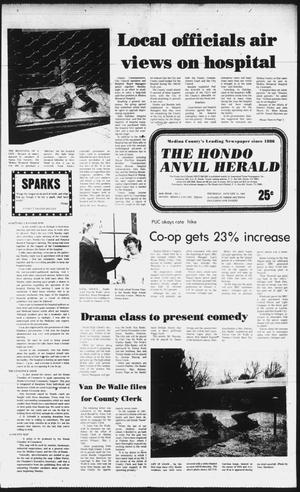 Primary view of object titled 'The Hondo Anvil Herald (Hondo, Tex.), Vol. 96, No. 3, Ed. 1 Thursday, January 21, 1982'.