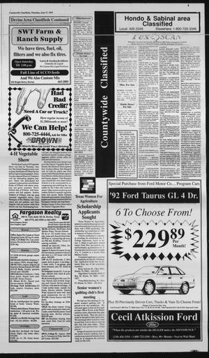 Hondo Anvil Herald Tex Vol 107 No 24 Ed 1 Thursday