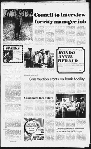 Primary view of object titled 'The Hondo Anvil Herald (Hondo, Tex.), Vol. 96, No. 16, Ed. 1 Thursday, April 22, 1982'.