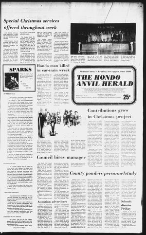 Primary view of object titled 'The Hondo Anvil Herald (Hondo, Tex.), Vol. 96, No. 50, Ed. 1 Thursday, December 16, 1982'.