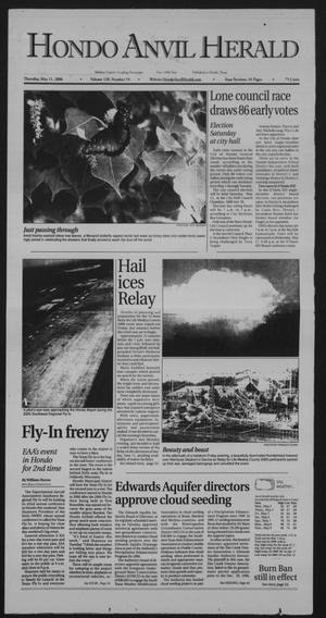 Primary view of object titled 'Hondo Anvil Herald (Hondo, Tex.), Vol. 120, No. 19, Ed. 1 Thursday, May 11, 2006'.