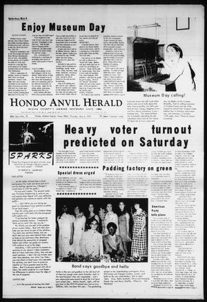 Primary view of object titled 'Hondo Anvil Herald (Hondo, Tex.), Vol. 85, No. 18, Ed. 1 Thursday, May 4, 1972'.