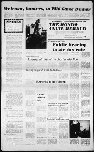 Primary view of object titled 'The Hondo Anvil Herald (Hondo, Tex.), Vol. 94, No. 49, Ed. 1 Thursday, December 4, 1980'.