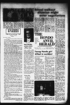Primary view of object titled 'The Hondo Anvil Herald (Hondo, Tex.), Vol. 86, No. 8, Ed. 1 Thursday, February 21, 1974'.