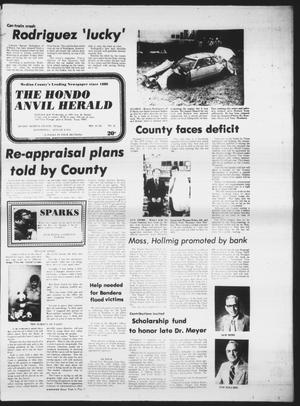 Primary view of object titled 'The Hondo Anvil Herald (Hondo, Tex.), Vol. 90, No. 32, Ed. 1 Wednesday, August 9, 1978'.