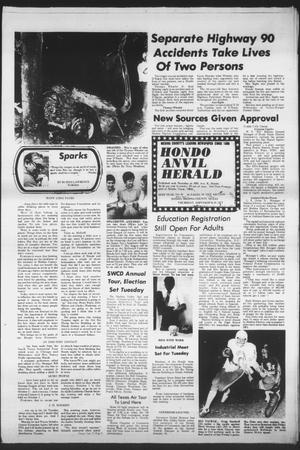 Primary view of object titled 'Hondo Anvil Herald (Hondo, Tex.), Vol. 89, No. 39, Ed. 1 Thursday, September 29, 1977'.
