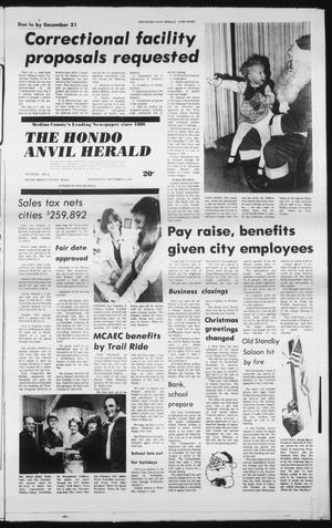 Primary view of object titled 'The Hondo Anvil Herald (Hondo, Tex.), Vol. 93, No. 51, Ed. 1 Wednesday, December 19, 1979'.