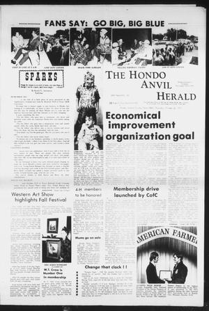 Primary view of object titled 'The Hondo Anvil Herald (Hondo, Tex.), Vol. 85, No. 43, Ed. 1 Thursday, October 25, 1973'.