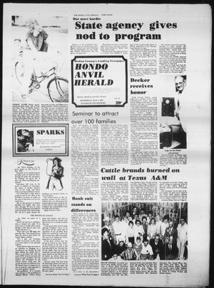 Primary view of object titled 'Hondo Anvil Herald (Hondo, Tex.), Vol. 93, No. 27, Ed. 1 Wednesday, July 4, 1979'.