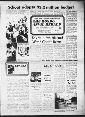 Primary view of object titled 'The Hondo Anvil Herald (Hondo, Tex.), Vol. 90, No. 35, Ed. 1 Wednesday, August 30, 1978'.