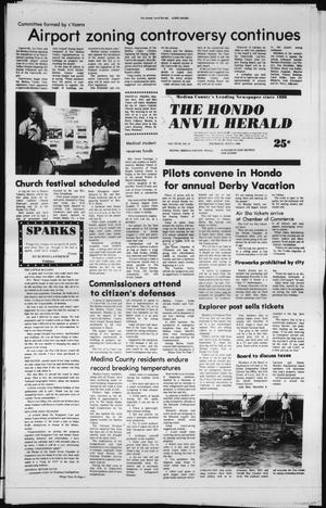 Primary view of object titled 'The Hondo Anvil Herald (Hondo, Tex.), Vol. 94, No. 27, Ed. 1 Thursday, July 3, 1980'.