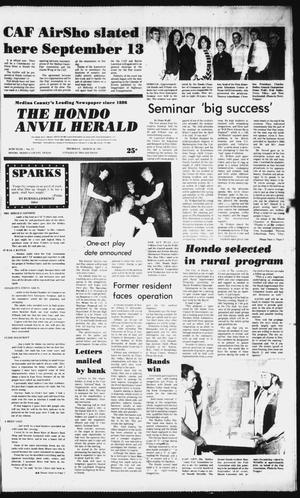 Primary view of object titled 'The Hondo Anvil Herald (Hondo, Tex.), Vol. 95, No. 13, Ed. 1 Thursday, March 26, 1981'.
