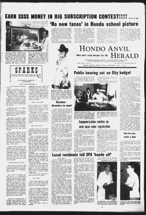 Primary view of object titled 'Hondo Anvil Herald (Hondo, Tex.), Vol. 87, No. 24, Ed. 1 Thursday, June 12, 1975'.