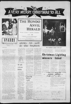 Primary view of object titled 'The Hondo Anvil Herald (Hondo, Tex.), Vol. 84, No. 51, Ed. 1 Thursday, December 23, 1971'.
