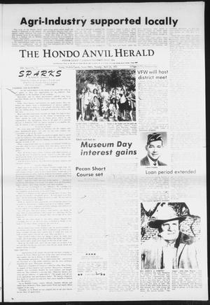 Primary view of object titled 'The Hondo Anvil Herald (Hondo, Tex.), Vol. 85, No. 17, Ed. 1 Thursday, April 26, 1973'.