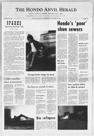 Primary view of object titled 'The Hondo Anvil Herald (Hondo, Tex.), Vol. 82, No. 46, Ed. 1 Thursday, November 14, 1968'.