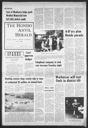 Primary view of object titled 'The Hondo Anvil Herald (Hondo, Tex.), Vol. 83, No. 40, Ed. 1 Thursday, October 1, 1970'.