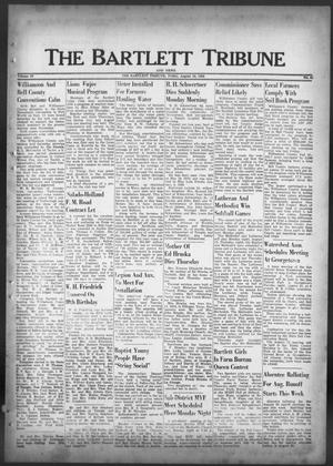Primary view of object titled 'The Bartlett Tribune and News (Bartlett, Tex.), Vol. 69, No. 41, Ed. 1, Friday, August 10, 1956'.
