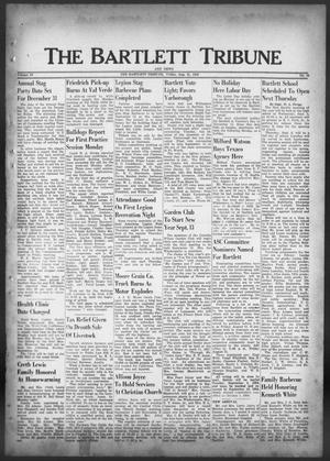 Primary view of object titled 'The Bartlett Tribune and News (Bartlett, Tex.), Vol. 69, No. 44, Ed. 1, Friday, August 31, 1956'.