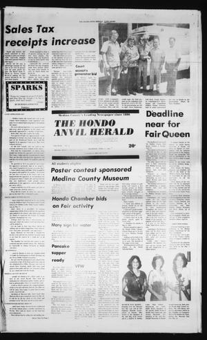 Primary view of object titled 'The Hondo Anvil Herald (Hondo, Tex.), Vol. 94, No. 16, Ed. 1 Thursday, April 17, 1980'.