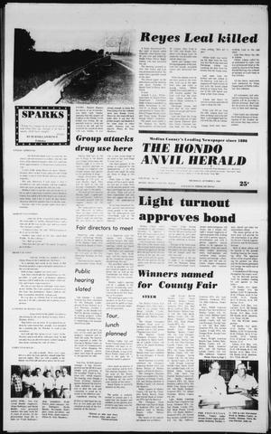 Primary view of object titled 'The Hondo Anvil Herald (Hondo, Tex.), Vol. 94, No. 40, Ed. 1 Thursday, October 2, 1980'.
