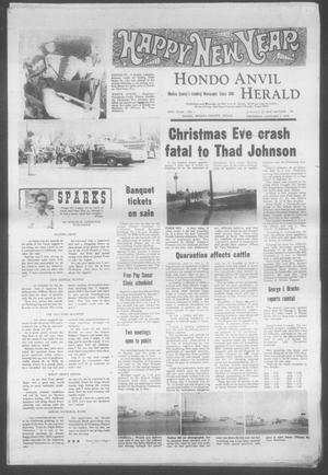 Primary view of object titled 'Hondo Anvil Herald (Hondo, Tex.), Vol. 88, No. 1, Ed. 1 Thursday, January 1, 1976'.