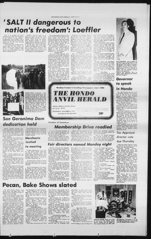 Primary view of object titled 'The Hondo Anvil Herald (Hondo, Tex.), Vol. 93, No. 46, Ed. 1 Wednesday, November 14, 1979'.