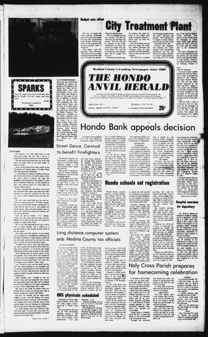 Primary view of object titled 'The Hondo Anvil Herald (Hondo, Tex.), Vol. 95, No. 31, Ed. 1 Thursday, July 30, 1981'.