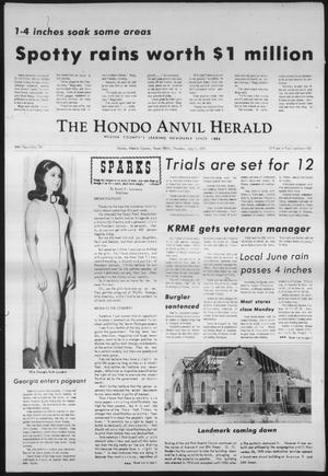 Primary view of object titled 'The Hondo Anvil Herald (Hondo, Tex.), Vol. 84, No. 26, Ed. 1 Thursday, July 1, 1971'.