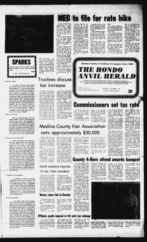 Primary view of object titled 'The Hondo Anvil Herald (Hondo, Tex.), Vol. 95, No. 40, Ed. 1 Thursday, October 8, 1981'.