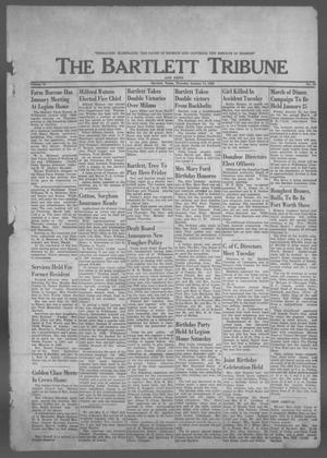 Primary view of object titled 'The Bartlett Tribune and News (Bartlett, Tex.), Vol. 76, No. 11, Ed. 1, Thursday, January 17, 1963'.