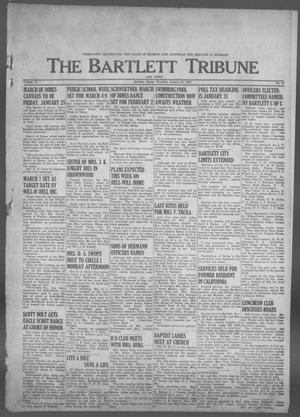 Primary view of object titled 'The Bartlett Tribune and News (Bartlett, Tex.), Vol. 76, No. 12, Ed. 1, Thursday, January 24, 1963'.