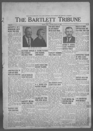 Primary view of object titled 'The Bartlett Tribune and News (Bartlett, Tex.), Vol. 76, No. 13, Ed. 1, Thursday, January 31, 1963'.
