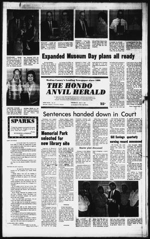 Primary view of object titled 'The Hondo Anvil Herald (Hondo, Tex.), Vol. 95, No. 19, Ed. 1 Thursday, May 7, 1981'.