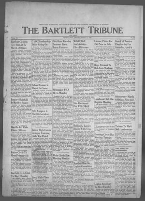 Primary view of object titled 'The Bartlett Tribune and News (Bartlett, Tex.), Vol. 76, No. 14, Ed. 1, Thursday, February 7, 1963'.