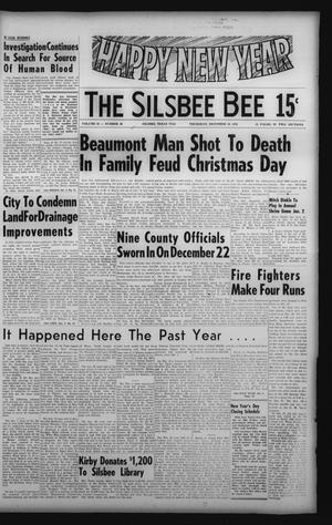 Primary view of object titled 'The Silsbee Bee (Silsbee, Tex.), Vol. 58, No. 46, Ed. 1 Thursday, December 30, 1976'.