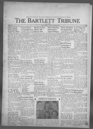 Primary view of object titled 'The Bartlett Tribune and News (Bartlett, Tex.), Vol. 76, No. 17, Ed. 1, Thursday, February 28, 1963'.