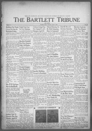 Primary view of object titled 'The Bartlett Tribune and News (Bartlett, Tex.), Vol. 76, No. 22, Ed. 1, Thursday, April 4, 1963'.